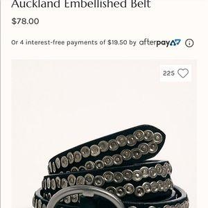 NWOT Free People studded belt